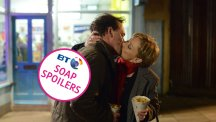 EastEnders first look: Billy and Carol kiss