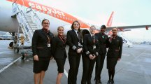 EasyJet flight takes off with all-female crew for International Women's Day