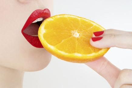 Eating oranges is good for you