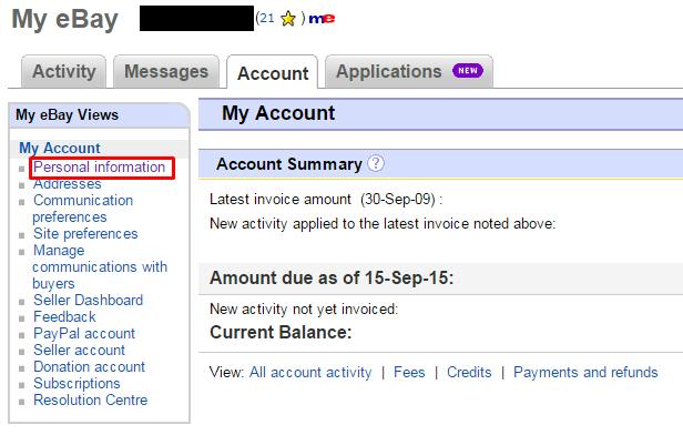 How to change your eBay password - BT