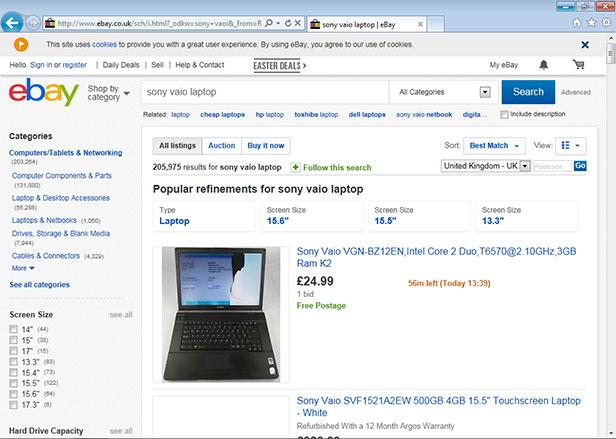 Old PCs on eBay