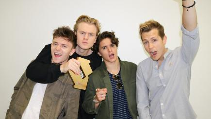 The Vamps dethrone Ed Sheeran to claim first Number One album