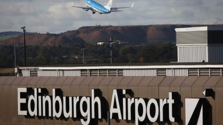 Edinburgh Airport flights disrupted amid power cut