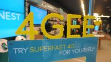 EE said it added a record 1.4 million 4G customers during the third quarter