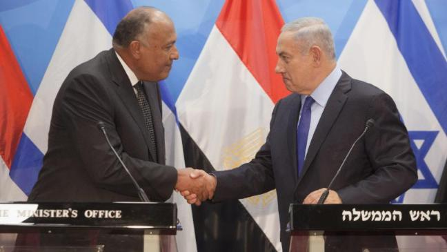 Egypt Foreign Minister In Rare Israel Visit To Boost Palestinian
