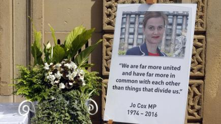 Politicians put aside differences to honour murdered MP Jo Cox