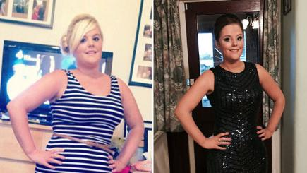 Woman sheds three stone - by eating more