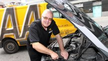 Jim Haggart joined the AA in Glasgow in August 1966
