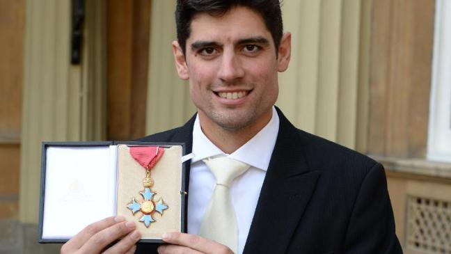 England Cricket Captain Alastair Cook Bowled Over With Royal