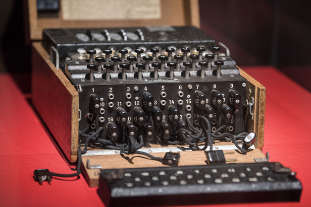 Cracking the world famous Enigma Machine with artificial
