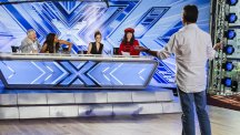 Simon Cowell auditions for X-Factor
