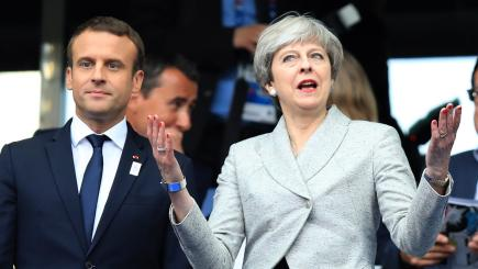 May, Macron announce anti-terror action plan