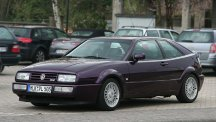 Volkswagen Corrado 16v in purple.