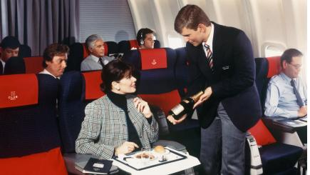 A nostalgic look back at how air travel used to be