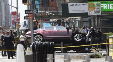 Murder charge for 26-year-old man in Times Square vehicle carnage