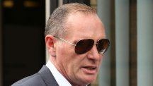 Paul Gascoigne is accused of harassing his ex-girlfriend in a series of abusive tweets, text messages and telephone calls