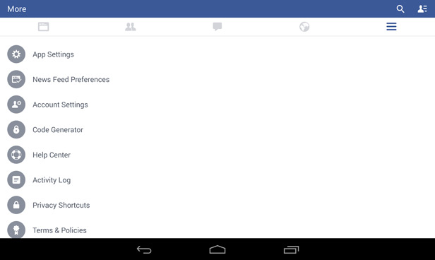 Facebook Android video playback 1
