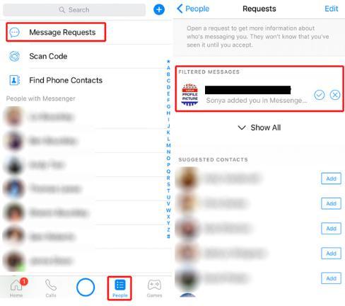 Find your hidden facebook inbox bt facebook hidden inbox screenshot messenger ccuart Image collections