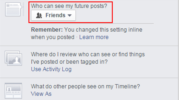 How to set up Facebook privacy settings