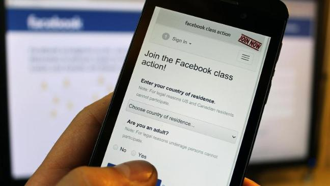 Facebook privacy action overwhelmed - BT