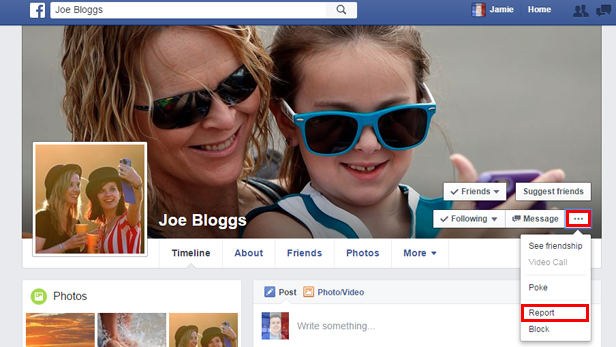 What to do if your Facebook profile is impersonated