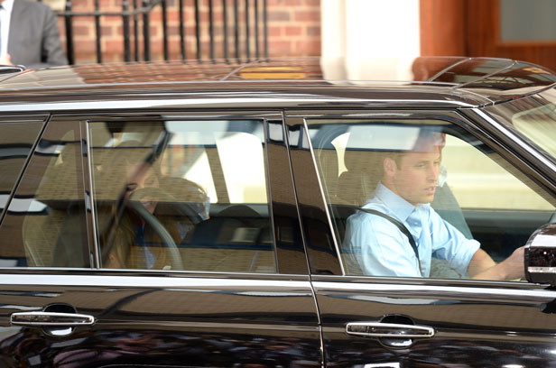 Car Driven By Prince William To Collect Kate Middleton And