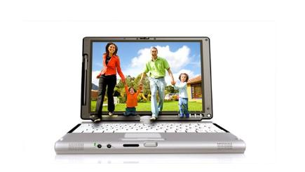 Family laptop