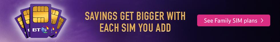Family SIM banner