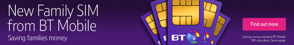 Family SIM with BT Mobile