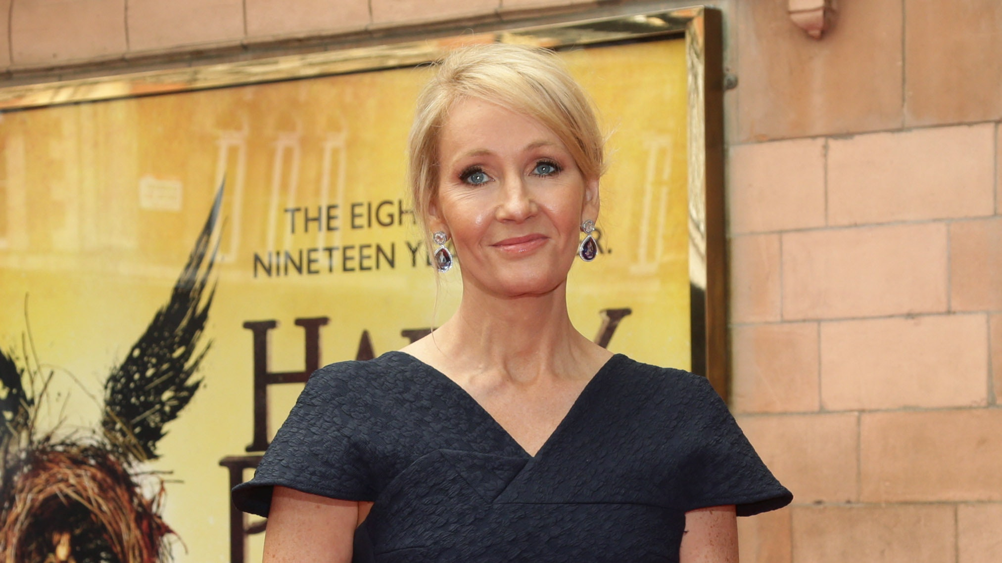 When J.K. Rowling learned Harry Potter would be published