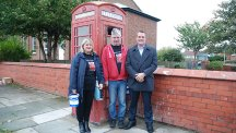 Fans of Orchestral Manoeuvres in the Dark save iconic red phone box in the Wirral