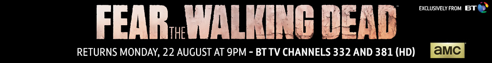 Fear the Walking Dead returns to BT TV on Monday 22 August at 9pm