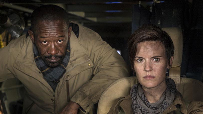 Maggie Grace as Al in Fear the Walking Dead