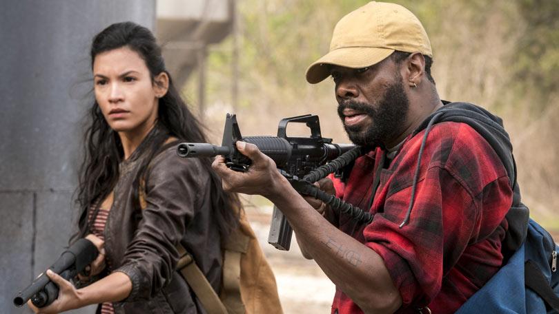 Danay Garcia and Colman Domingo in Fear the Walking Dead