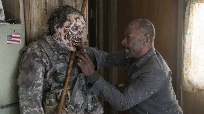 Lennie James as Morgan Jones in Fear the Walking Dead