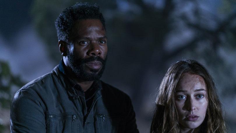 Colman Domingo and Alycia Debnam Carey in Fear the Walking Dead