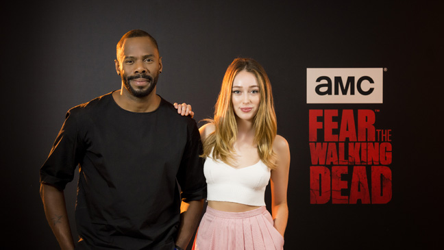Colman Domingo and Alyica Debnam-Carey