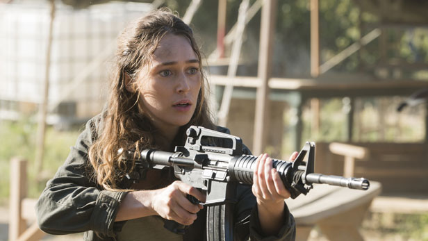 Fear the Walking Dead season 3B - Alycia Debnam Carey as Alicia Clark