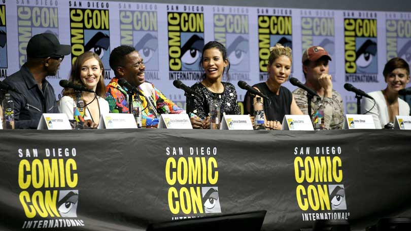 Fear the Walking Dead cast at Comic Con