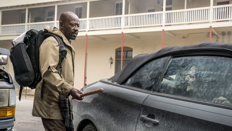 Fear the Walking Dead season 4 - Lennie James as Morgan Jones