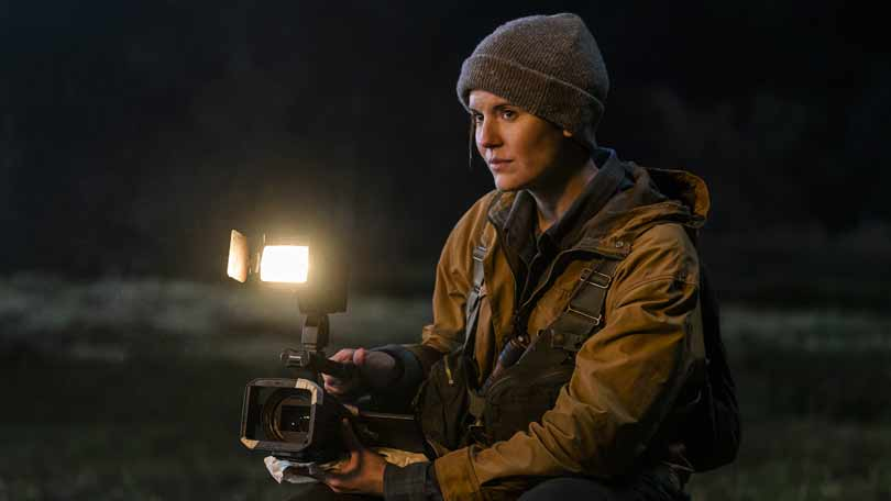 Maggie Grace as Al in Fear the Walking Dead