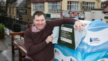 Ian Henderson from the Colinton Inn and Bistro has made the switch to fibre broadband