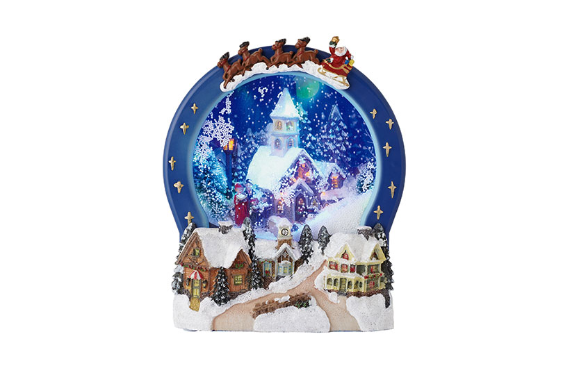 Christmas Door Decorating Ideas Snow Globe : Mix n match your decorations for a fun and fashionable