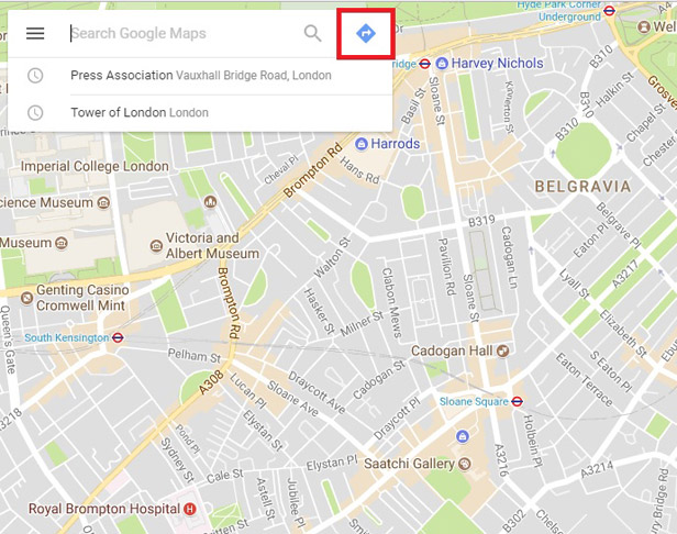 How To Use Google Maps To Plan A Route Find Traffic Or Cycle