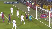 Fiorentina keeper buries a header ... for Genoa!