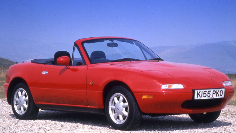 mazda s mx 5 the little car that could. Black Bedroom Furniture Sets. Home Design Ideas