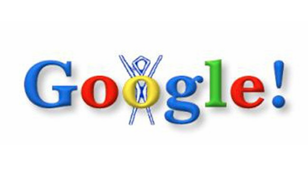 The first ever Google Doodle