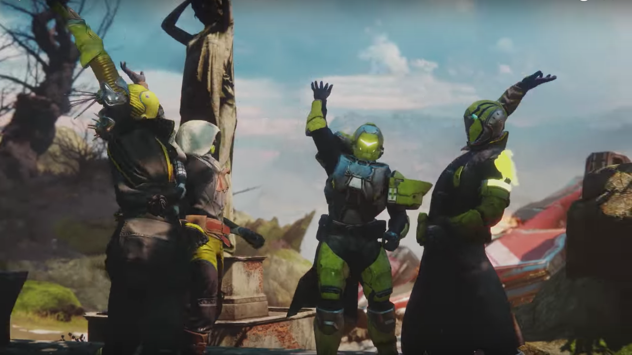 Story trailer for Destiny 2: Forsaken drops