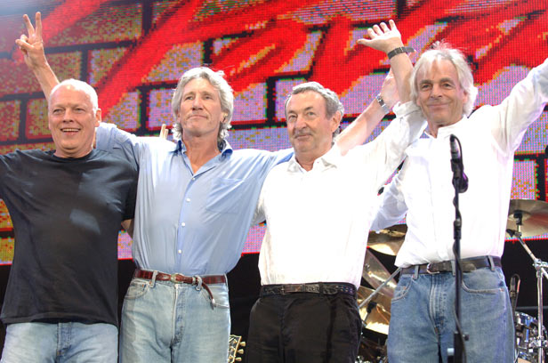 Pink Floyd take their final bow after their performance at London's Live 8
