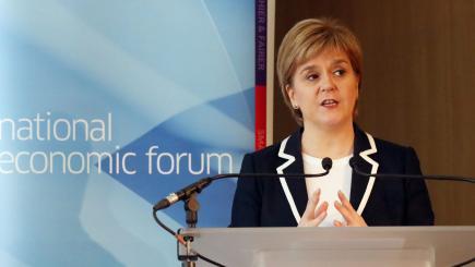 Nicola Sturgeon sets out agenda for Scotland's future